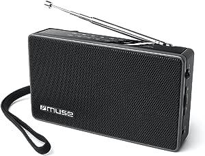 Muse M-030 R 便携式FM/AM(调频调幅)收音机
