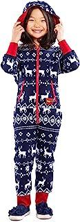 Tipsy Elves 儿童蓝色费尔岛连身衣 - 男孩和女孩