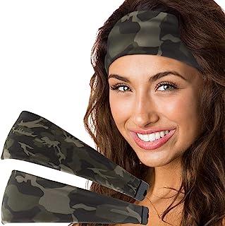 Hipsy 女式可調節彈性印花 Xflex 頭帶