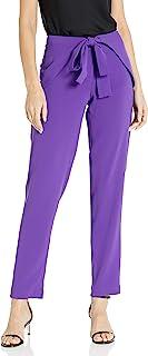 A|X Armani Exchange 女士优雅前系带长裤