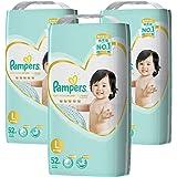 Pampers 帮宝适 纸尿裤 L大码 (9~14kg) 尿不湿尿片 156枚(52枚×3包) 【整箱售卖】