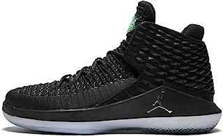 NIKE Men's Air Jordan XXXII Basketball Shoes Black/Multi-Color-Metallic Silver 8