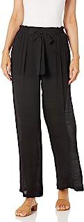 A. Byer 女式宽腿纸袋裤
