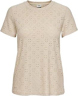 JdY 女士 Jdycathinka S/S Tag Top JRS Noos T 恤 灰色 M