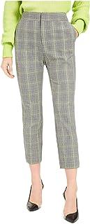 Bar III 女式格子锥形裤