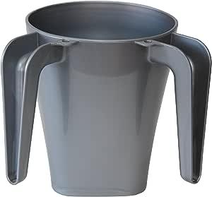 Majestic Giftware wcp-gy 塑料水洗杯,5.英寸,灰色