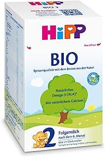 HiPP 喜宝 Bio 婴儿奶粉 2段(适用于6月以上婴儿),4盒装(4 x 600g)