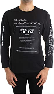 VERSACE JEANS COUTURE 男式 T 恤针织背心