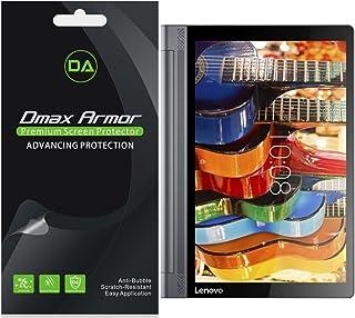 Dmax Armor [3 件装] 适用于 Lenovo Yoga Tab 3 Pro - 10.1 英寸平板电脑屏幕保护膜,防气泡高清透明屏保 - 终身更换保修- 零售包装