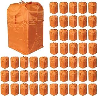 Olivitan(东方) 受到推进手推车、购物车、各种洗衣车用 集配 收集 干袋 50个装 橙色 02090850