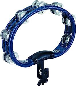 Meinl Tambourine,铝制转轴,可安装版本,蓝色