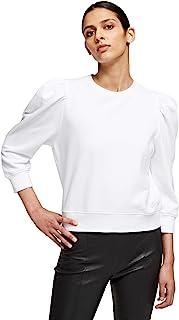 KARL LAGERFELD 女式泡泡袖标志运动衫