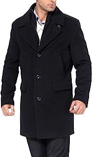BGSD 男式 Steven Cashmere 混合罗纹散步外套