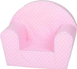 Knorrtoys 68347 儿童扶手椅,粉色,圆点