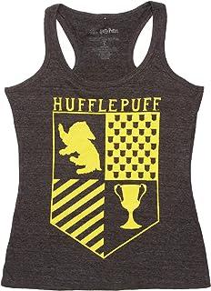 Bioworld Harry Potter Hufflepuff Juniors Racerback Tank Top