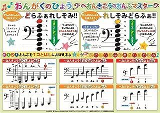 """音乐表 浴室里的课程 """"H音记号音符大师"""" AKPO-15"""