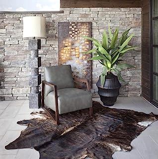 RODEO 制造的真牛皮真皮地毯,装饰超值尺寸约 16X180.10 厘米