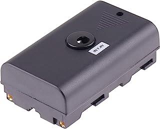 JLWIN NP-F 假电池直流电源适配器适用于 Sony 索尼 NP 系列 NP-F970 NP-F960 NP-F770/F750/F550/F570/F990 电源视频 LED 灯相机显示器