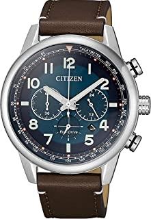CITIZEN 西铁城 男士 指针 光动能手表 皮革表带 CA4420-13L