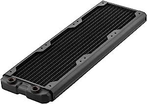 黑色冰 hwl-r103 Nemesis Gts 360mm 散热器 - 黑色
