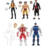 Marvel 漫威传奇系列金刚狼 5 件装,包括漫威的奥米加红、Marvel's Cyber、Marvel's Call…