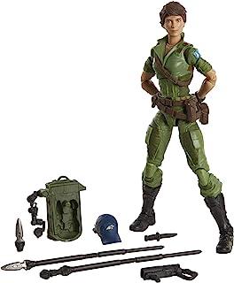 Hasbro 孩之宝 G.I.Joe Classified 系列夫人 Jaye 手办 25 收藏版高级玩具,带多个配件,6 英寸(约15.24厘米)比例,带特殊包装艺术