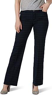 LEE 女士弹性运动常规版型裤子