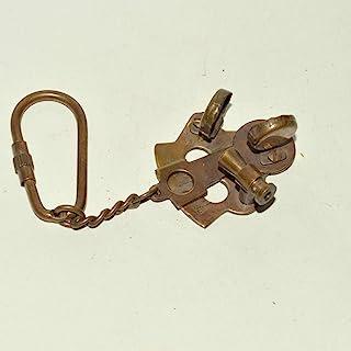Hello Nauticals Store 航海复古黄铜钥匙扣古铜色性感钥匙圈