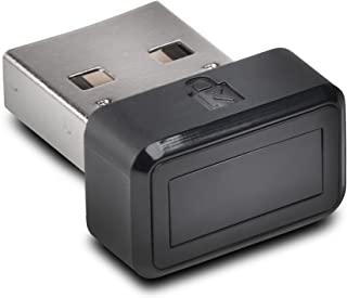 Kensington 肯辛通 VeriMark USB 指纹密钥验证器 - Windows Hello,FIDO U2F,防欺骗(K67977WW),黑色