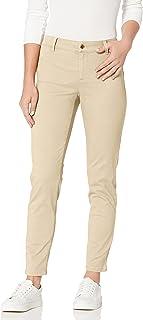 Calvin Klein 女士 4 口袋斜纹裤