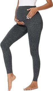 Glampunch 女式孕妇裤运动休闲舒适弹力孕妇裤
