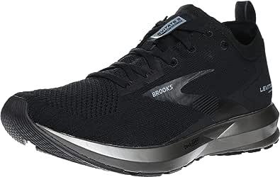 Brooks 男式 Levitate 3 鞋 Black/Ebony 7
