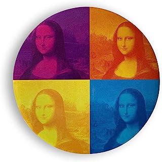 Louvre Davinci 口袋镜子 圆形 Mona Lisa