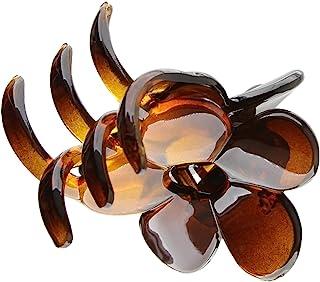 Caravan Flower Hair Claw Tortoise Shell