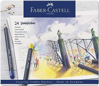 Faber-Castell 輝柏嘉 金色彩色鉛筆 金屬筆桿, 24-teiliges Zinn-Set
