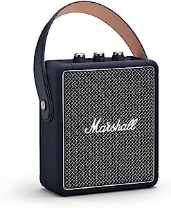 Marshall 马歇尔 Stockwell II 便携式蓝牙音箱(EU),靛青色