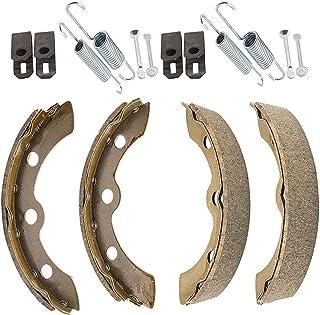 WFLNHB 制动鞋弹簧套件替换件适用于俱乐部汽车 DS 1995-up 和更换先例高尔夫球车 1018232-01 1018163-01