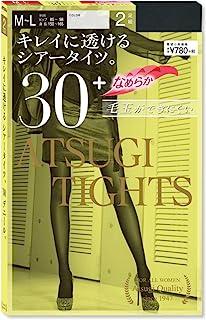 ATSUGI 厚木 30D ATSUGI 连裤袜 (Atsugi Tights) 30旦尼尔 2双装 FP78312P 女士
