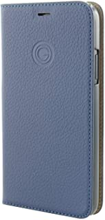 Mike Galeli MARCIP185.8-M04 MARC 高级皮革时尚保护套书本保护壳适用于 5.8 英寸 iPhone XS - 深蓝色