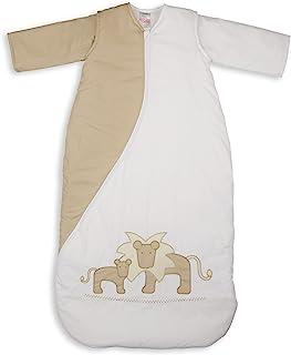 英国Purflo 刺绣款睡袋,厚度1.0T适用于室温21-23度,适合18个月以上身高110公分的宝宝PS1LIONNAT110