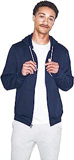 American apparel 男式中性款 FLEX 羊毛拉链连帽衫