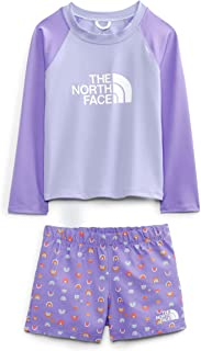 The North Face 北面 幼儿长袖两件套太阳套装