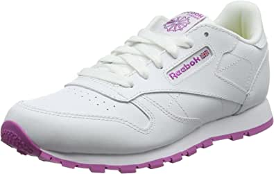 Reebok 锐步 女童经典皮革运动鞋