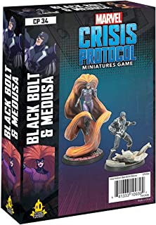 Atomic Mass Games - Marvel Crisis Protocol: Character Pack: Black Bolt and Medusa - 微型游戏