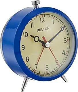 Dulton 闹钟 蓝色 100-053Q/BL h110 w90 d70毫米