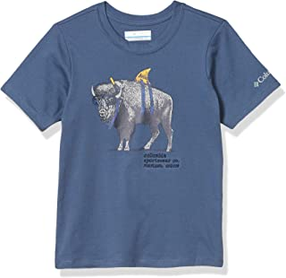 Columbia 哥伦比亚 男童 Peak Point T 恤,* 针织棉