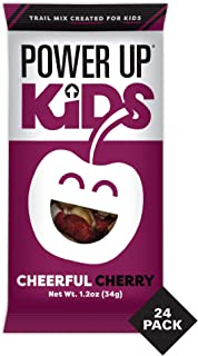 Power Up Kids Cheerful Cherry Trail Mix, Nut Free, Snack Mix, Perfect Snack for School, Gluten Free, No Artifical Colors o...
