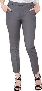 Marycrafts 女式工装及踝连衣裙长裤裤