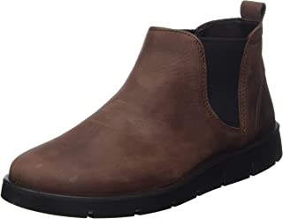 ECCO 爱步 女士Bellla Chocolate油面牛巴皮革踝靴