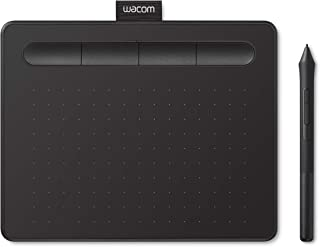 【Amazon.co.jp限定】Wacom 数位板 Wacom Intuos影拓 S(小)号  黑 S